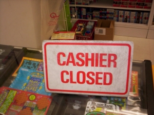 common decency a thing of the past cashier closed