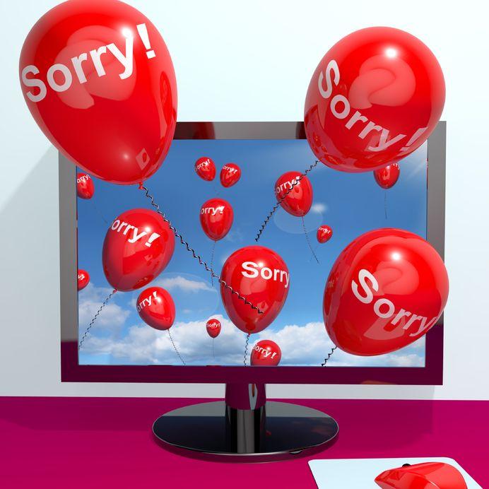 Mother Facebook Apology