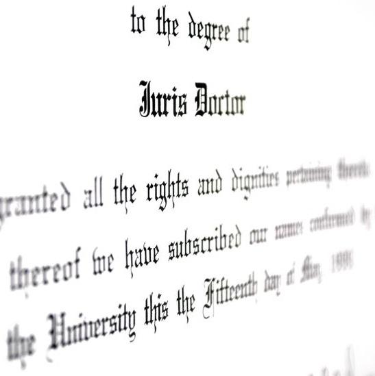 Posthumous Law License