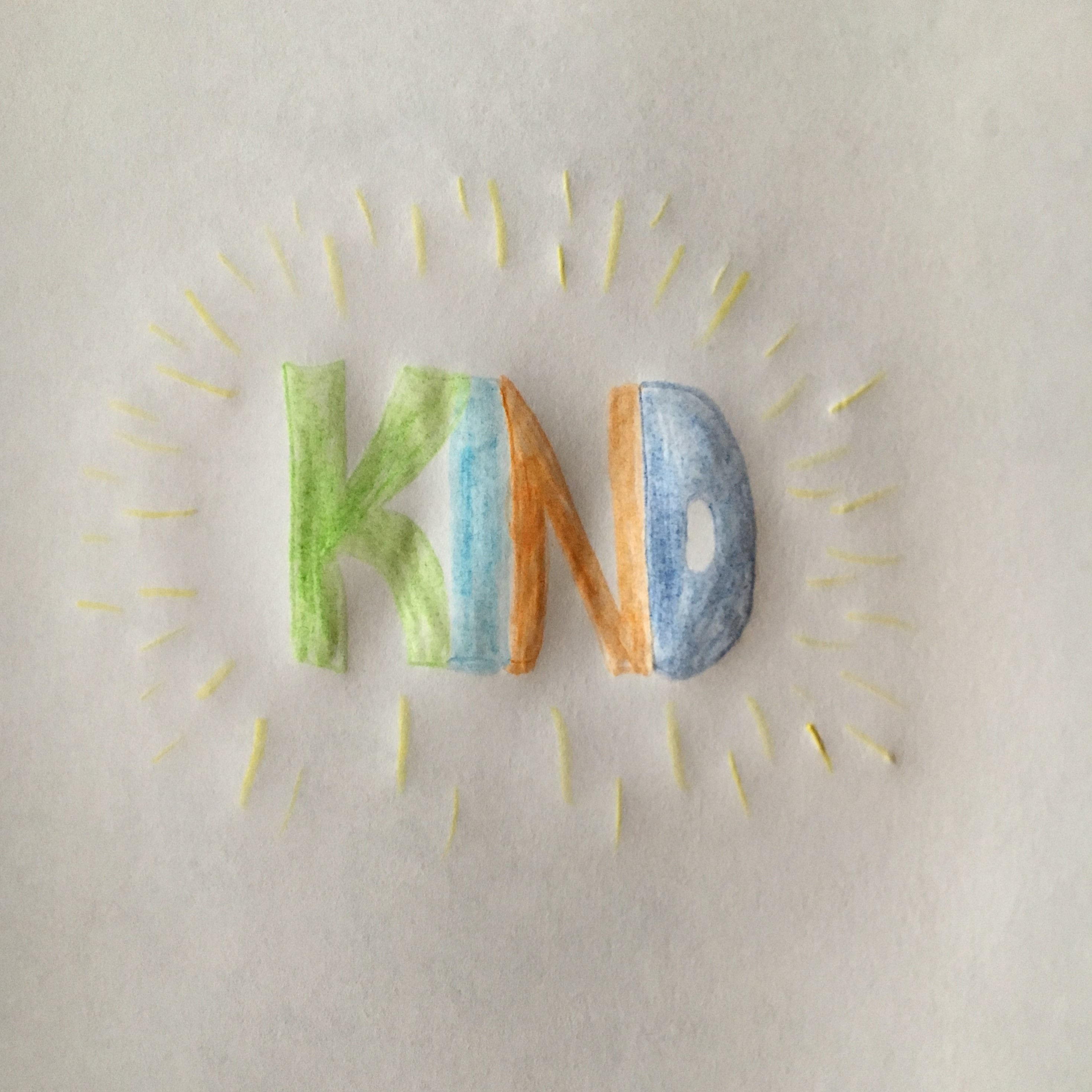 kindness drawing